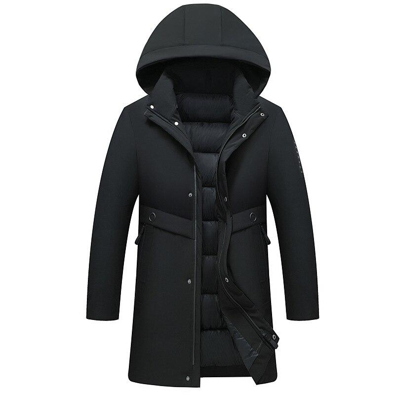 Мужская зимняя стеганая куртка, Мужское пальто, повседневное стеганое хлопковое пальто, мужские парки, мужское зимнее пальто с капюшоном, п...