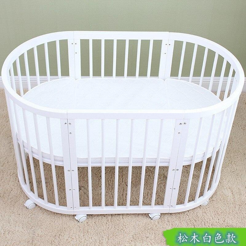 Baby bed bassinet baby essentials pine cribs for babys newborn enlarge