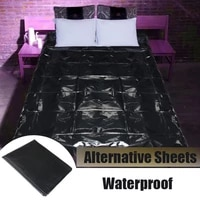 pvc wetlook bed sheet for couples adult game waterproof hypoallergenic mattress cover hotel essential oil massage outdoor sheets