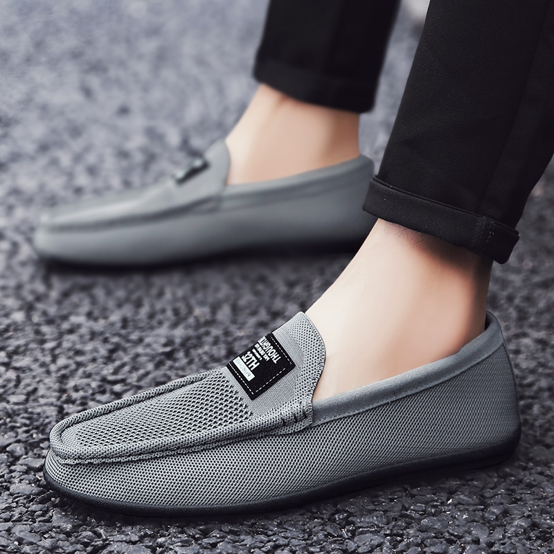 Walking Shoes Fashion Men casual shoes outdoor men Driving Shoes Genuine Leather Men Loafers Moccasi