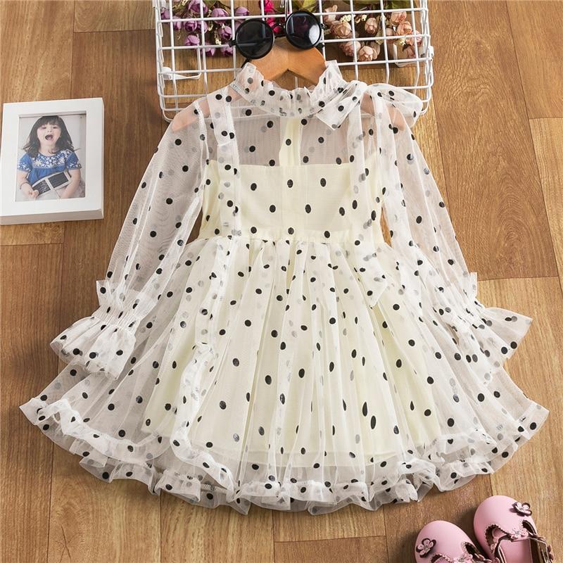 Cute Girls Dress New Summer Girls Dresses Fancy Flower Princess Dress Toddler Tutu Baby Girls Tulle Dress Casual Wear 3 8Y