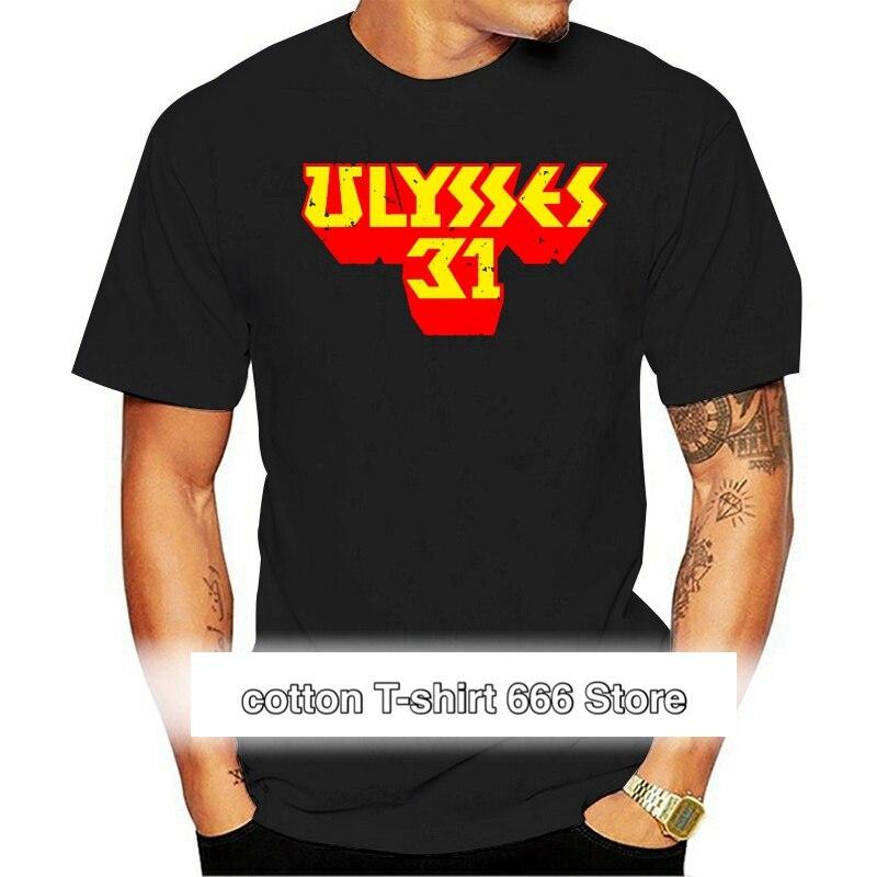 Ulises-Camiseta RETRO de dibujos animados para hombre de talla grande 31 no...