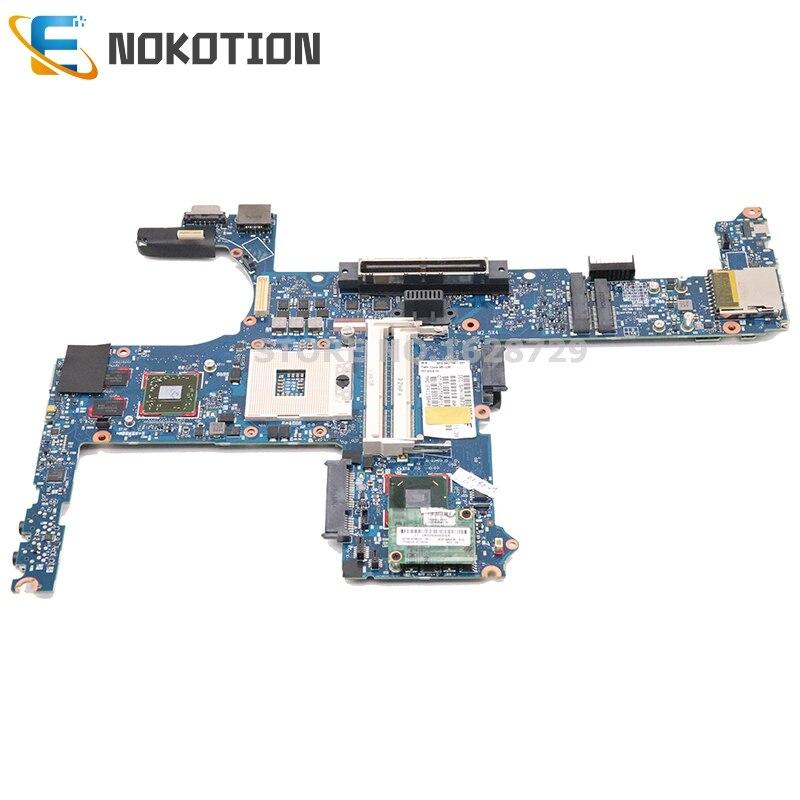 NOKOTION 642753-001 642754-001 для hp elitebook 8460P материнская плата для ноутбука QM67 DDR3 HD6470M графика