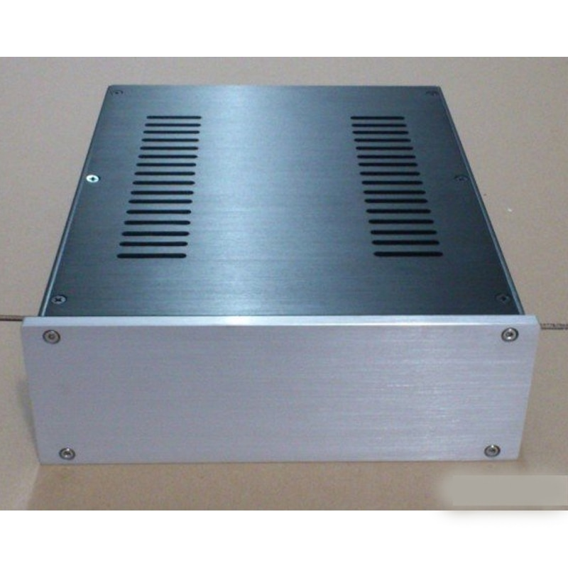 260*90*311 MM All-aluminum Chassis 2609 Preamp DAC Amp Amplifier Chassis DIY Box Enclosure Amplifier Case Shell