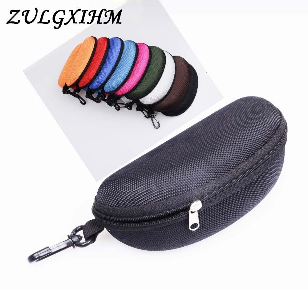 2020 caja de gafas de sol de moda gafas de lectura bolsa de transporte estuche rígido con cremallera estuche de viaje