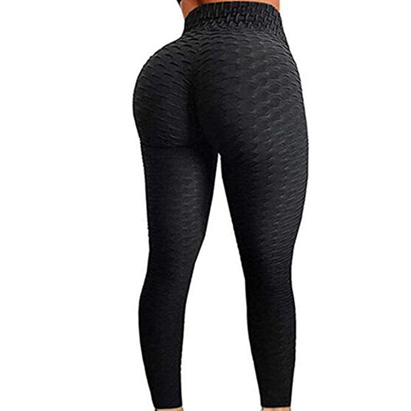 Mallas Push Up de Fitness de cintura alta para mujer, mallas Push...