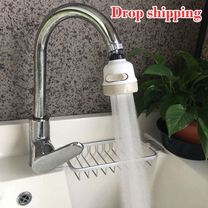 2021 Moveable Kitchen Tap Head 360°Rotatable Faucet Water Saving Filter Sprayer Splash Adapter Accessories