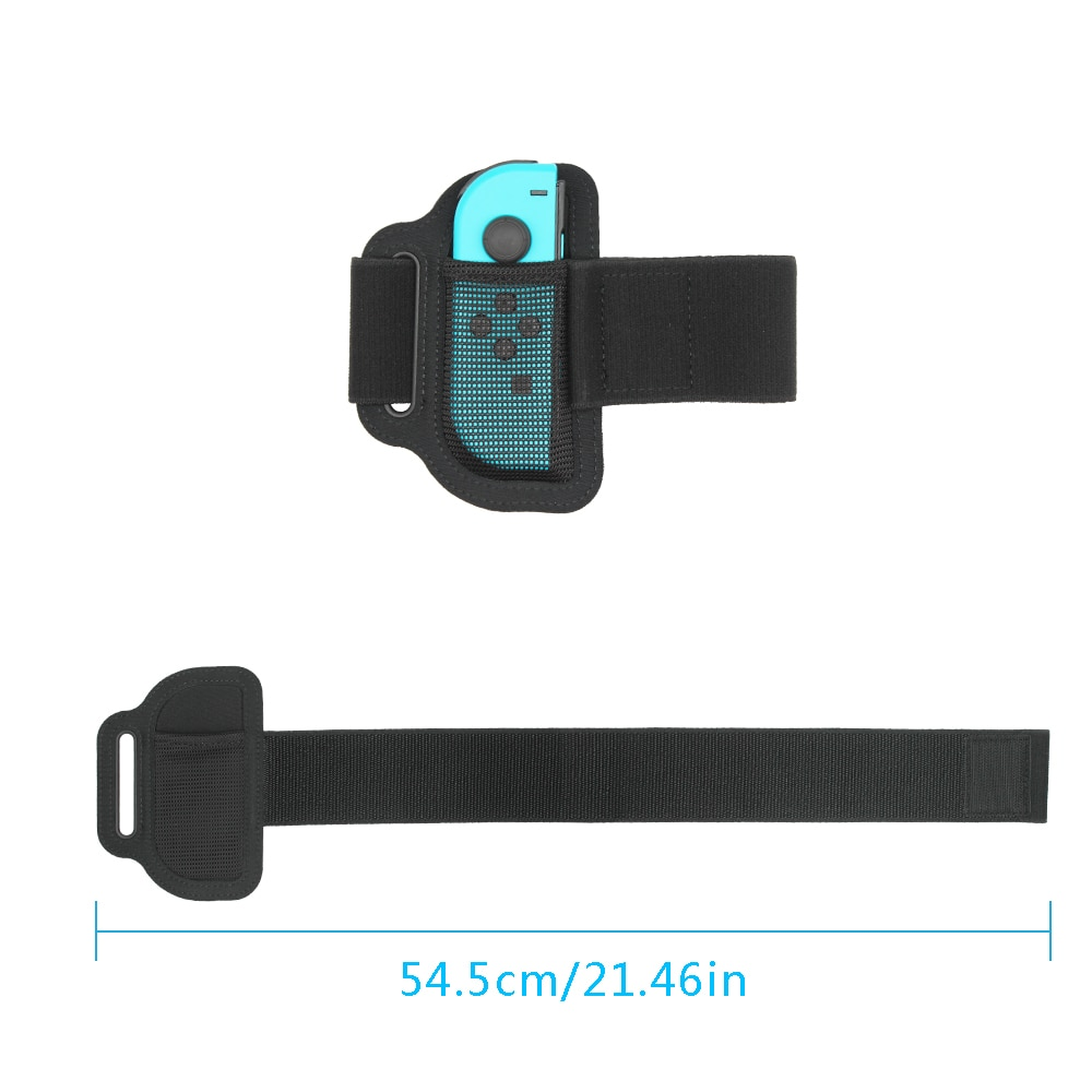 Lightweight Adjustable Wear Resistant Elastic Sport Strap Adjustable Leg Band For Switch Fitness Fit Adventure Replacements enlarge