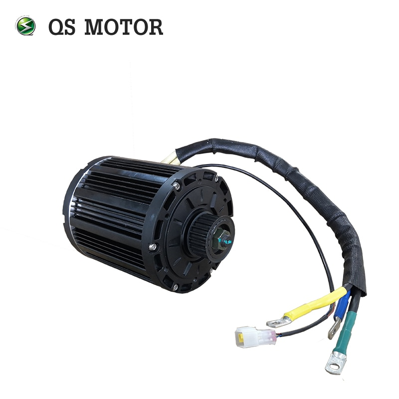 QS Motor PMSM 4000W 138 90H Mid Drive Motor And Votol Controller Kits For Electric Motorcycle 72V enlarge