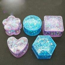 1 pieza nuevo molde de jabón de silicona moldes de resina epoxi amor caja cristal epoxi molde decorativo