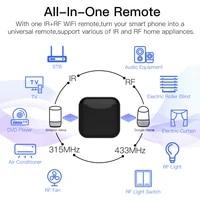 Telecommande intelligente RF IR WiFi  controle vocal  pour maison intelligente  prise de courant avec application Tuya Smart Life infrarouge  Alexa Google