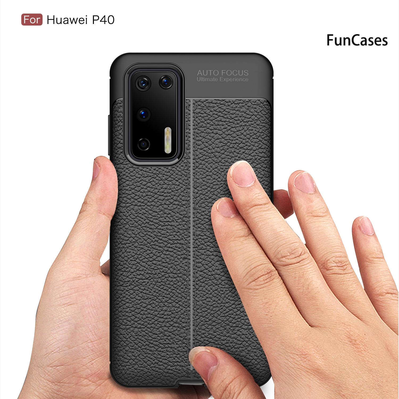Funda con patrón de lichi para Huawei Enjoy 10S, cubiertas de teléfonos...
