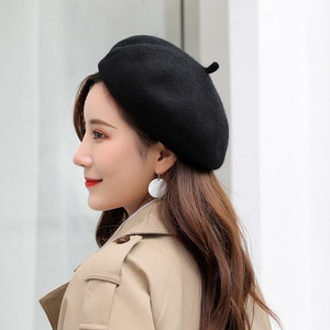 Women's Hats Wool Warm Beret Beanie Hats French Style Casual Warm Fashion Caps Colors Optional