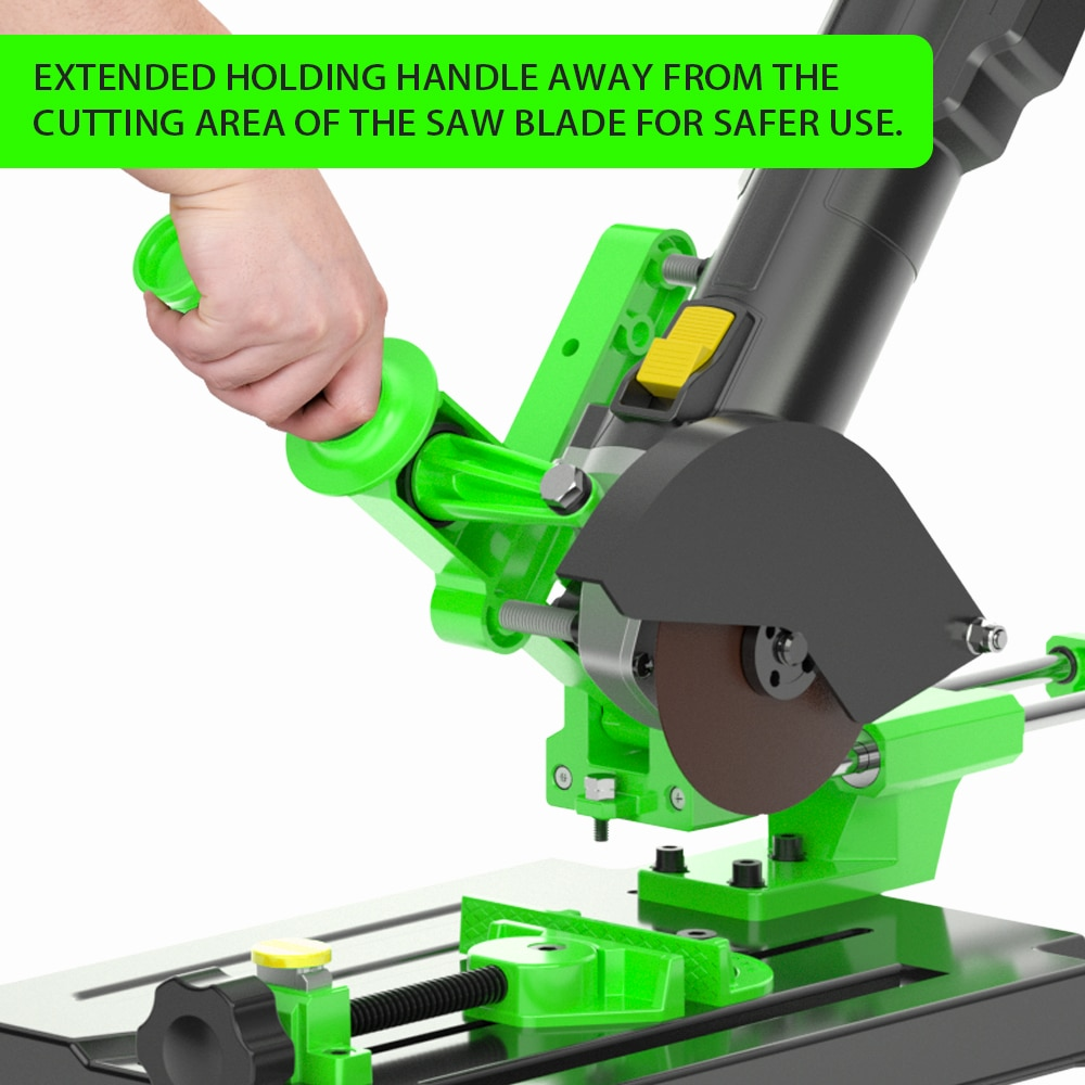 Universal Angle Grinder Stand Bracket Holder Metal Cutting Machine Support Power Tools Accessories for 100 and 125 Angle Grinder enlarge