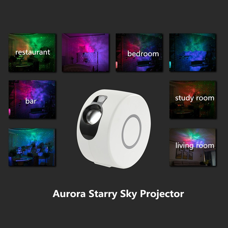2020 New  Baby Night Lamp Remote Star Galaxy Laser Projector Starry Sky Stage Lighting Effect Bedrooms Kids Room Party Night LED enlarge