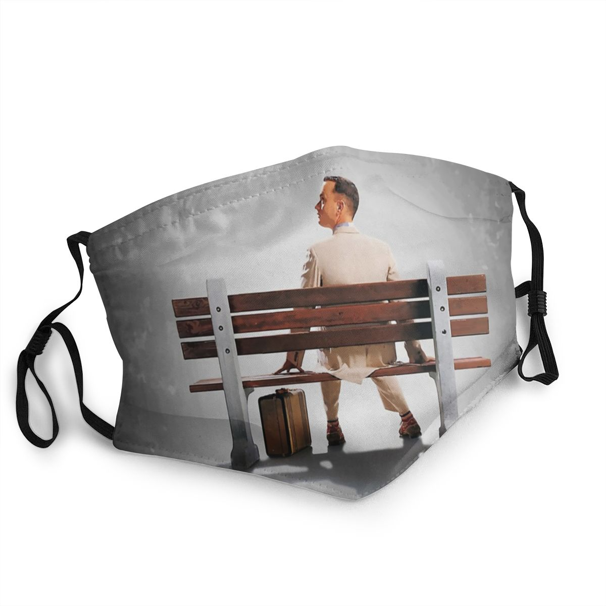 Forrest Gump Non-Disposable Face Mask Tom Hanks Movie Anti Haze Dustproof Mask Protection Cover Respirator Mouth Muffle