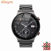 2021 luxury business men smart watch sports watch full screen touch bluetooth call heart rate monitoring ip67 waterproof for men