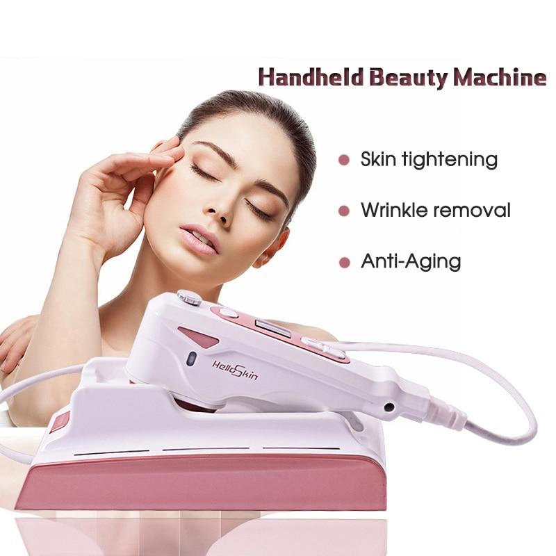 HIFU-aparato ultrasónico de radiofrecuencia para el cuidado Facial, dispositivo antiedad para Lifting de la piel, máquina Profesional de uso doméstico, instrumento de ultrasonido