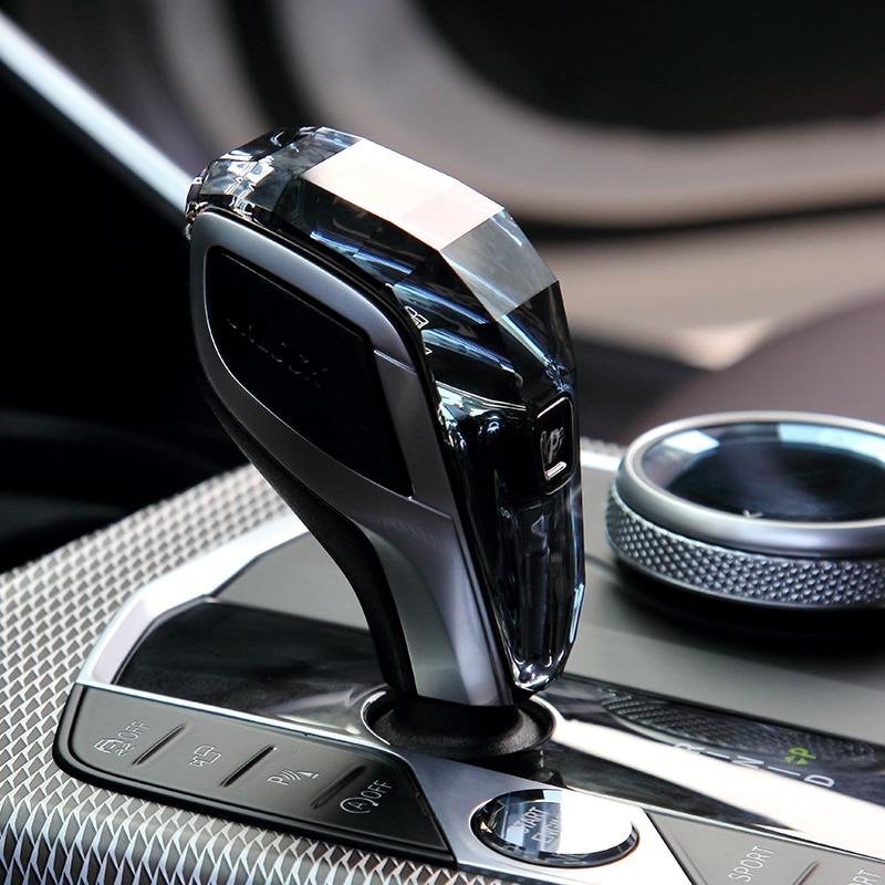 كريستال ثلاث قطع سلسلة والعتاد التحول المقبض لسيارات BMW 3/4/5/6/7 سلسلة F & G الشاسيه G20 G28 G22 G30 G38 F12 F13 G12 اكسسوارات السيارات