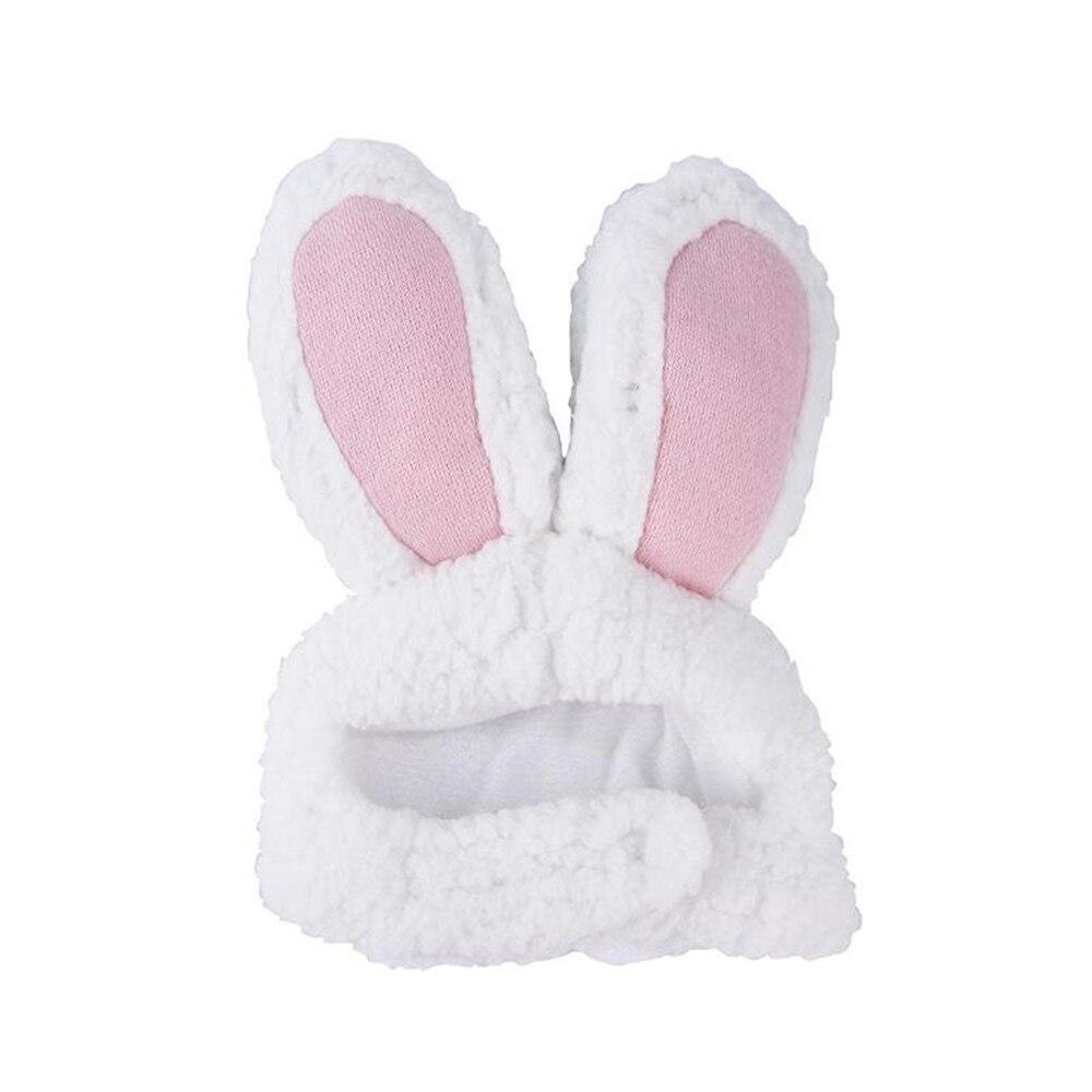 Rabbit Ear Hat Cute Caps Plush Embroidery Rabbit Ear Hat Gift For Kids Girls Wrap Warm Hat Cap Ladie
