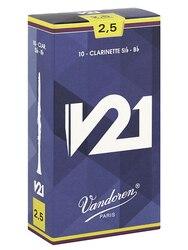 Cr8025 v21 bastões para clarinete bb, n° 2.5, 10 peças, vandoren
