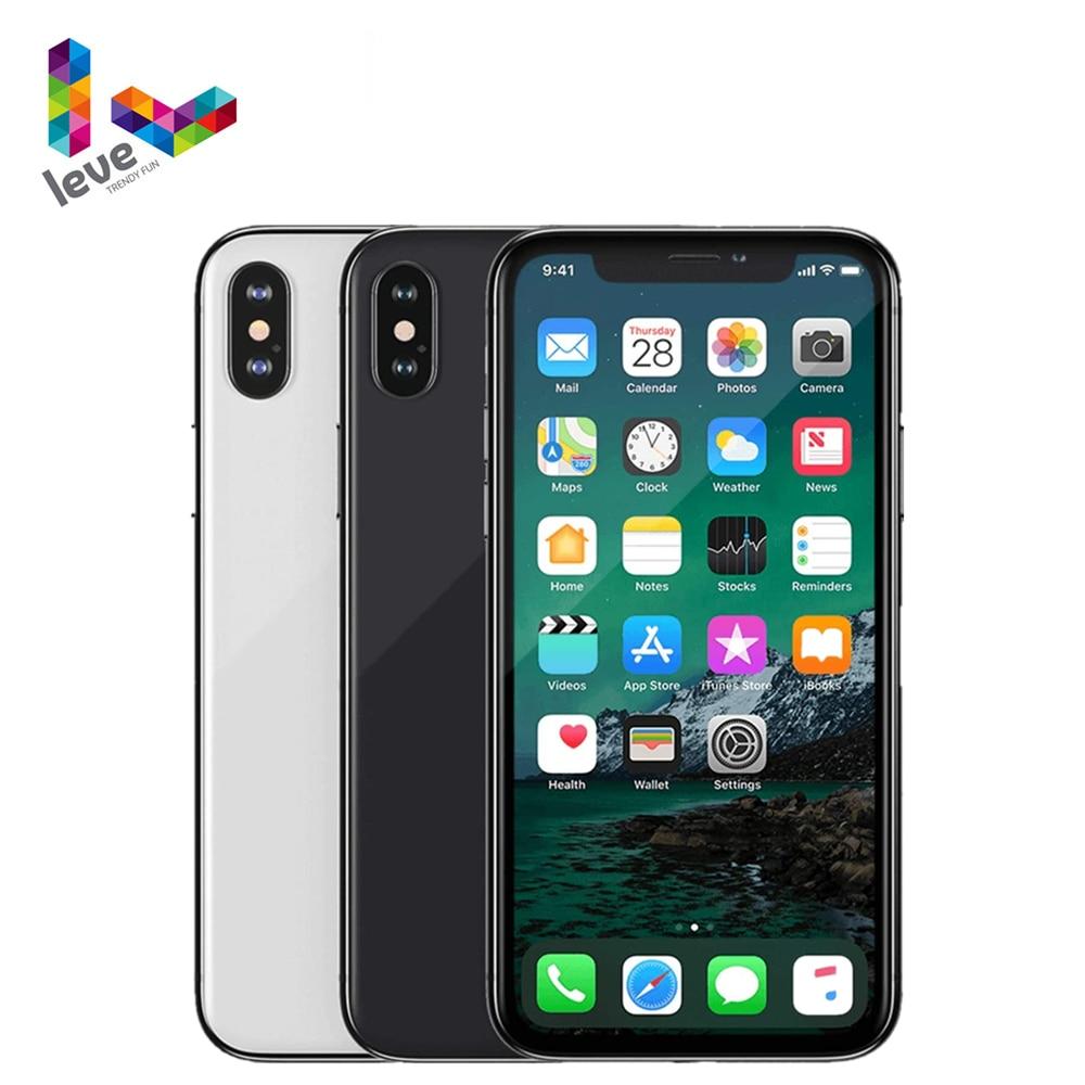 Get Apple iPhone X Unlocked Mobile Phone 5.8″ 3GB RAM 64GB/256GB ROM Hexa Core 12MP Support Face ID 4G LTE Original iOS Cellphone