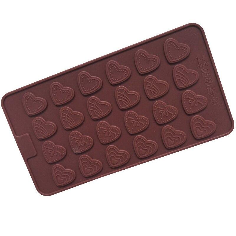 Силиконовая форма в форме сердца, любовь, десерт, конфеты, шоколад, печенье, форма, инструмент для украшения тортов