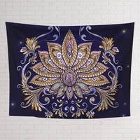 chakra tapestry colorful mandala painting wall hanging tapestry canvas wall fabric bedroom decoration beach towel yoga mat
