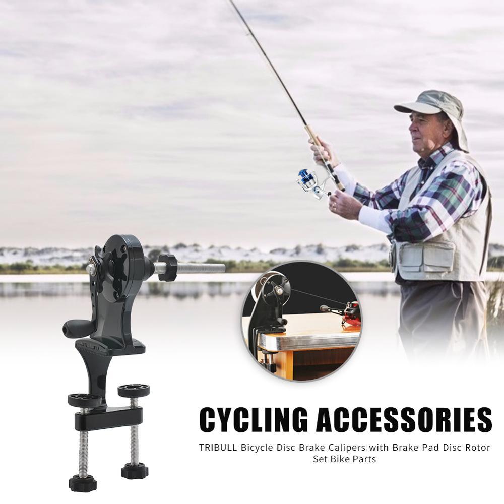 Enrollador de línea de pesca portátil clásico, equipo de fundición, carrete giratorio, carrete de carrete giratorio, Spooler, accesorios de pesca, herramientas