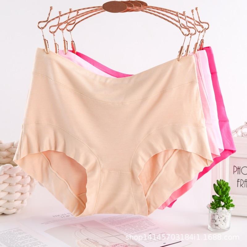 Трусики большого размера с высокой талией для женщин, нижнее белье, женские трусы большого размера, трусики большого размера l, сексуальные ...