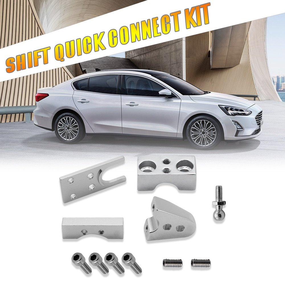 Billet liga quickshift installa remover conveniente simples corrida rally kits de mudança rápida para ford focus rs mk2 st 225