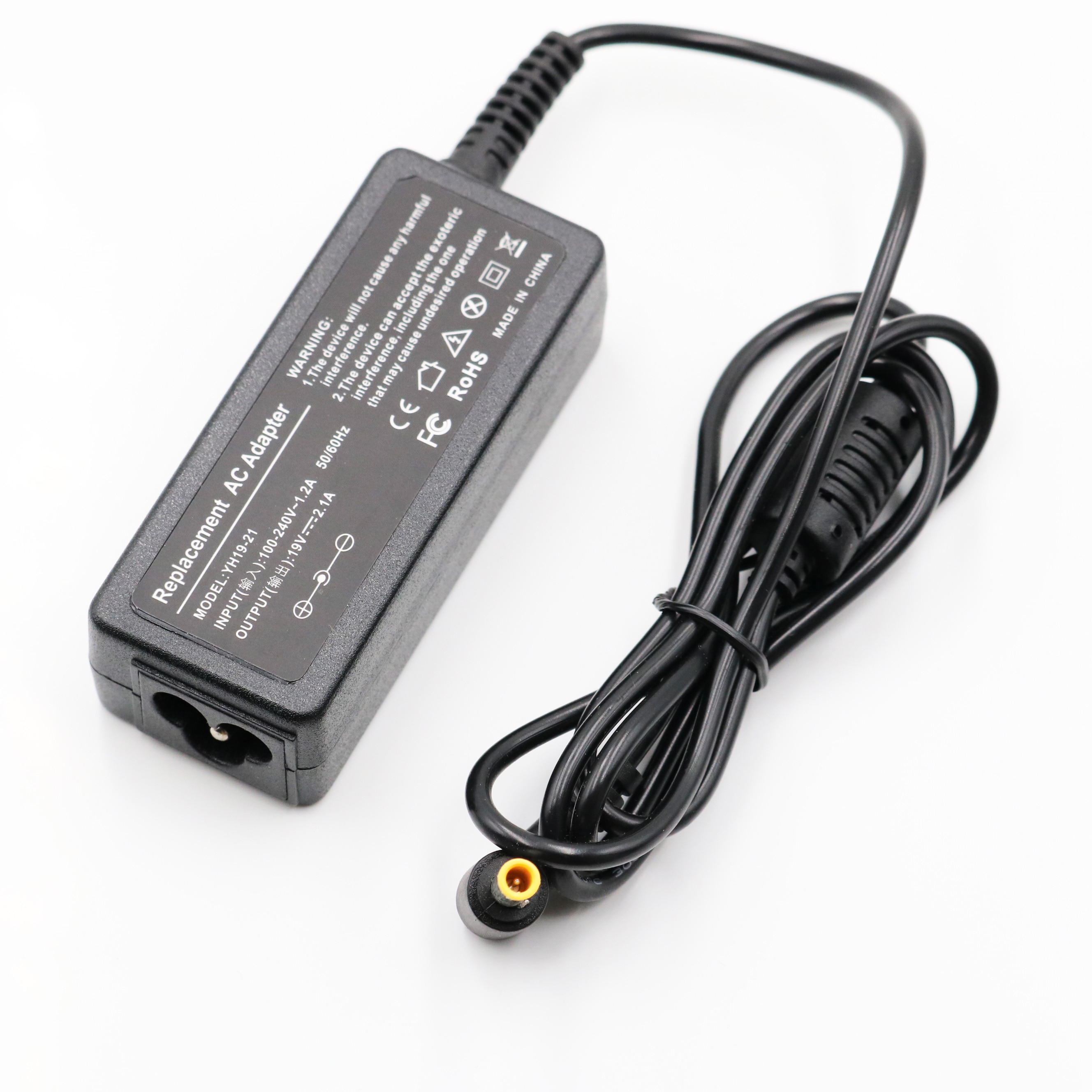 Ac Adapter Laptop Charger for Samsung Netbook 19V 2.1A 40W N130 N140 N150 N210 N220 N510 NP-N110 NP-