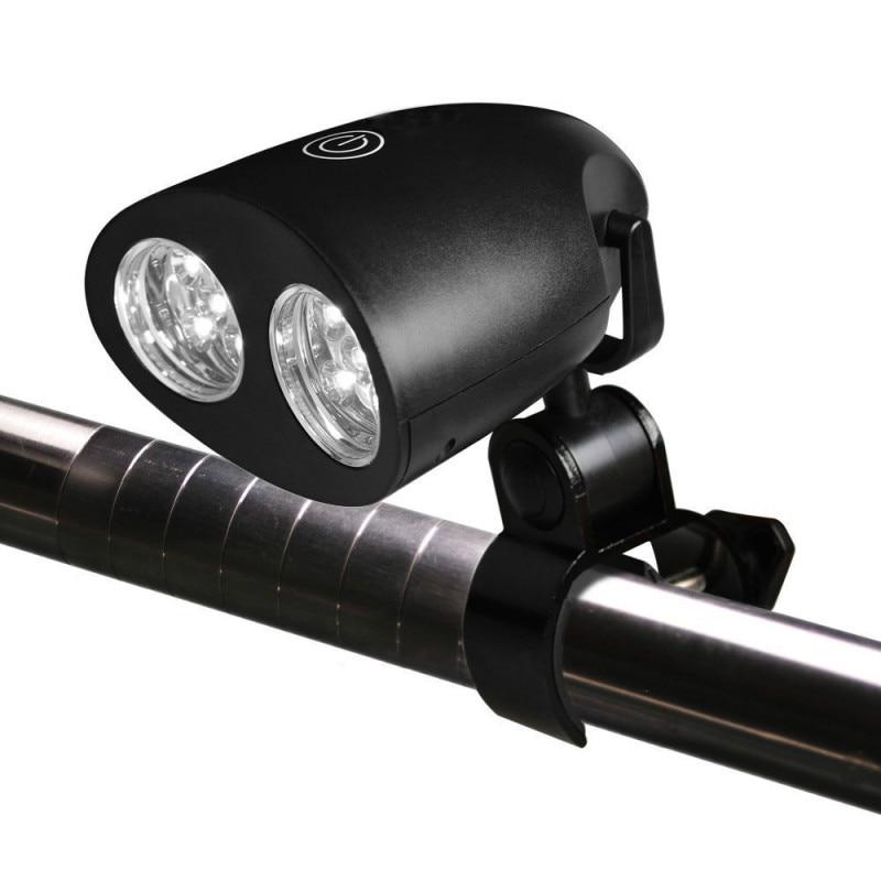 Luces LED brillantes portátiles, luz de parrilla para barbacoa con Clip de montaje con mango para barbacoa, parrilla, lámpara de bicicleta, luz de Camping para bicicleta al aire libre