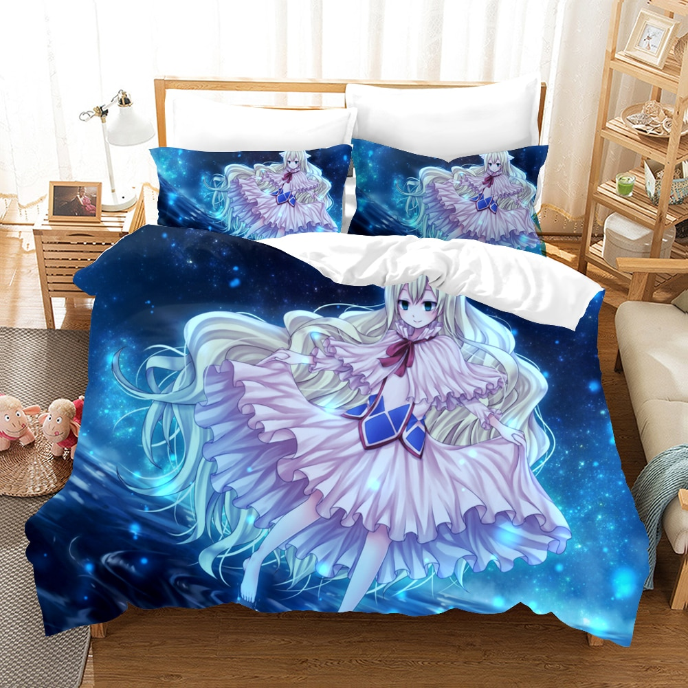 بلدي بطل الأكاديمية ثلاثية الأبعاد طقم سرير شعبية أنيمي لحاف مطبوع مجموعة غطاء المخدة التوأم الملكة الملك الحجم المفارش ديكور