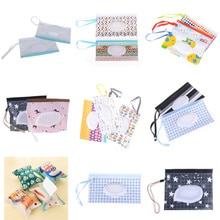Boîte de lingettes pour bébé boîte de lingettes humides lingettes nettoyantes sac de transport