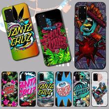 NBDRUICAI Skateboard Santa Cruz brand TPU Soft Silicone Phone Case Cover for Samsung S20 plus Ultra S6 S7 edge S8 S9 plus S10 5G