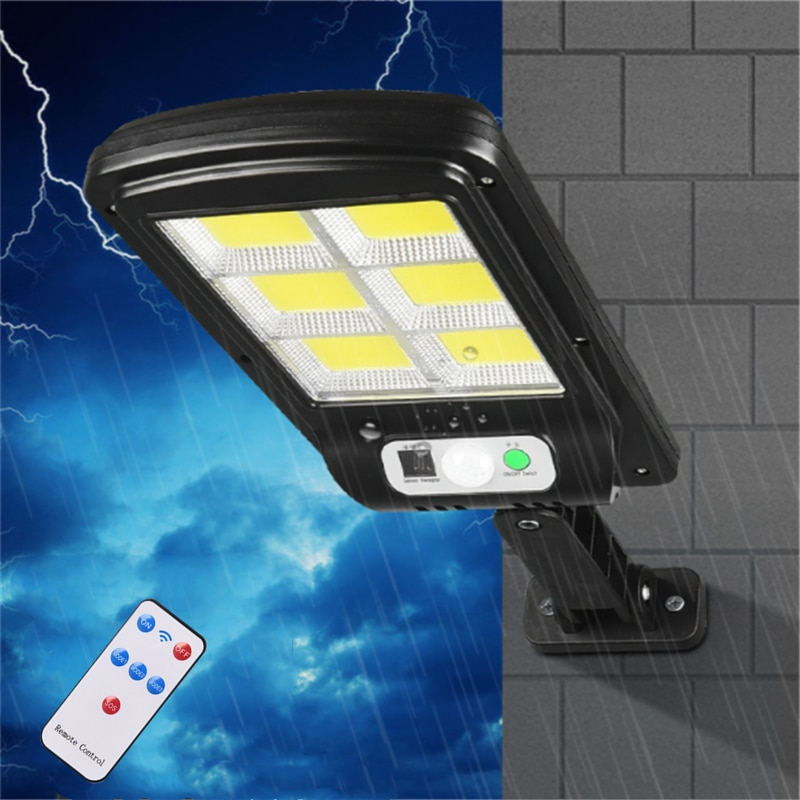 Solar Led Light Outdoor Lighting Lamp Street Waterproof Motion Sensor Wall Garden Lights