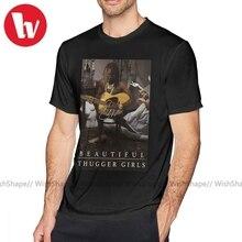 Thug Life T-Shirt jeune voyou facile aéré belle Thugger filles EBBTG T-Shirt imprimer à manches courtes T-Shirt hommes drôle T-Shirt