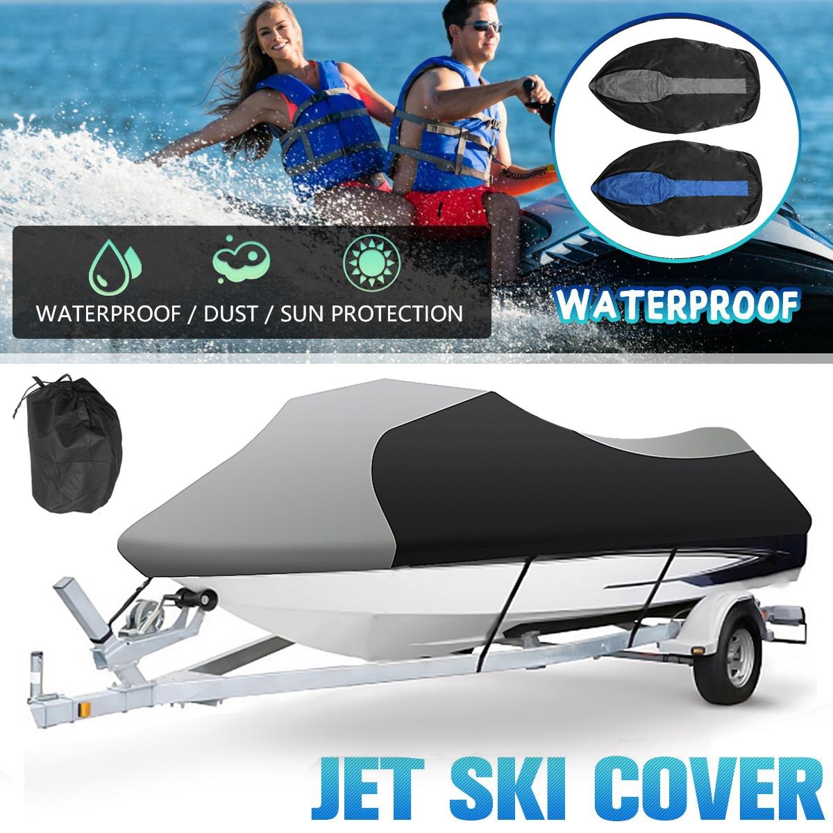 210DWaterproof Dustproof Sunscreen Jet Ski Watercraft Boat Cover Protector For Yamaha WaveRunner EXR Sea Doo