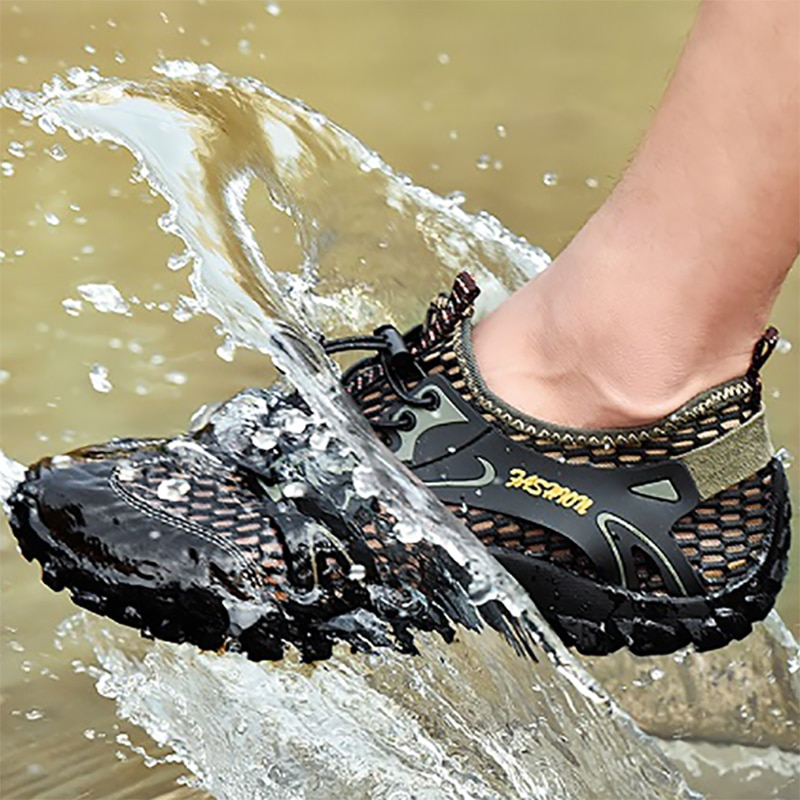 Unisex Beach Water Shoes, Breathable Non-slip Quick-drying Water Sports Shoes, Wear-resistant Light