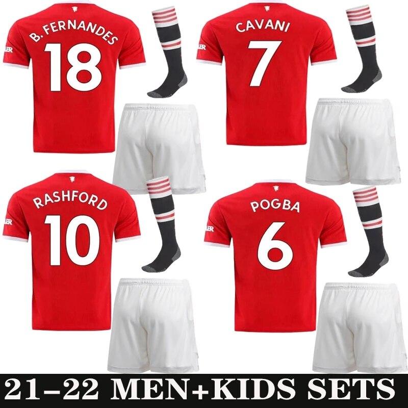 Бесплатная доставка Роналдо 2021 2022 футболка Манчестер нашивка чемпионов Sancho 21 22 мужские футболки для взрослых
