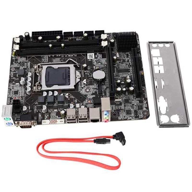P55 2 قناة اللوحة P55-A-1156 عالية الأداء سطح المكتب الكمبيوتر اللوحة الأم وحدة المعالجة المركزية واجهة Lga1156