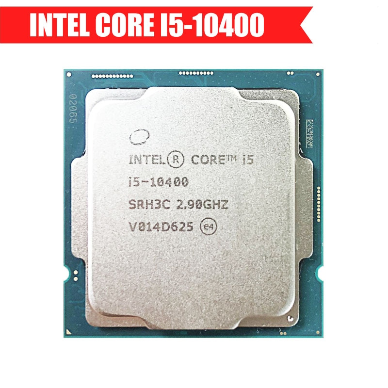 معالج Intel Core i5-10400 i5 10400 2.9 جيجاهرتز ذاكرة التخزين المؤقتة 12 متر بستة النواة و12 خيط 65 واط LGA 1200 وحدة معالجة مركزية لسطح المكتب