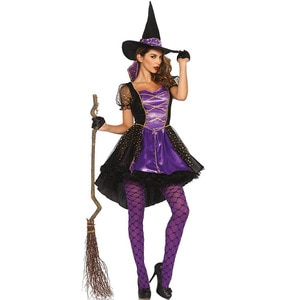 Sexy Witch Role-Playing Female Devil Costume Cosplay Foreign Trade Sexy Uniform Halloween Witch Clothes Costume