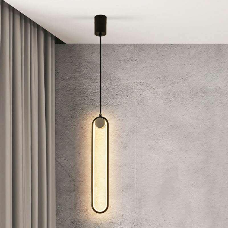 مصباح جداري LED على الطراز الاسكندنافي ، تصميم حديد معلق ، مثالي لغرفة النوم أو السرير أو السقف.