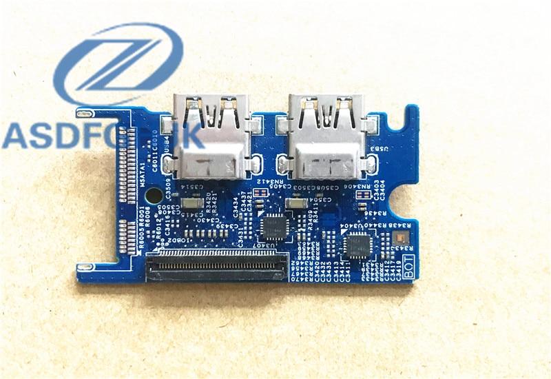 الفقرة الأصلية لـ ديل انسبايرون 15 7537 USB IO بلاسا دي سيركيتو CHA01 13702-2 DOH50 53HW4 MK9TP 100% Test ok