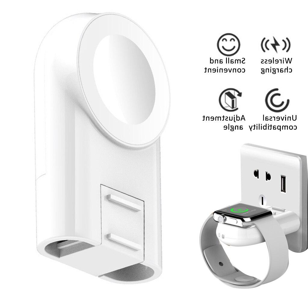 Cargador USB MFi portátil cargador inalámbrico para reloj serie 5 4 3 2 1 para iwatch carga inalámbrica magnética