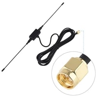 soonhua 118in 433mhz gsm gprs sma male plug horn antenna signal amplifier sma horn antenna cable sma male plug horn antennas