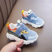 Baby Boys Girls Shoes Spring Autumn 1-6 Years Kids Shoes Children's Casual Sneakers Breathable Anti-