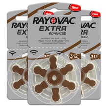 30 Pcs Rayovac Extra 1.45V Performance Hearing Aid Batteries A312 312A ZA312  S312 PR41 Hearing Aid
